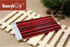 High Quality Red Body Stripe Paint Hex Pencil with Eraser