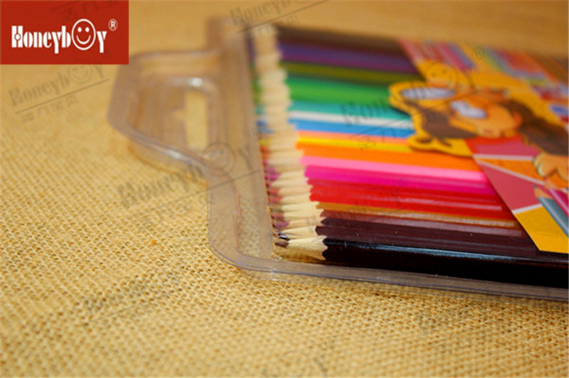 High Quality Wooden Color Pencil Set Artist Color Pencil Set Children Gift