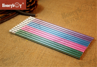 2021 China Professional Manufacturer Rolling Printing Pencil with Eraser