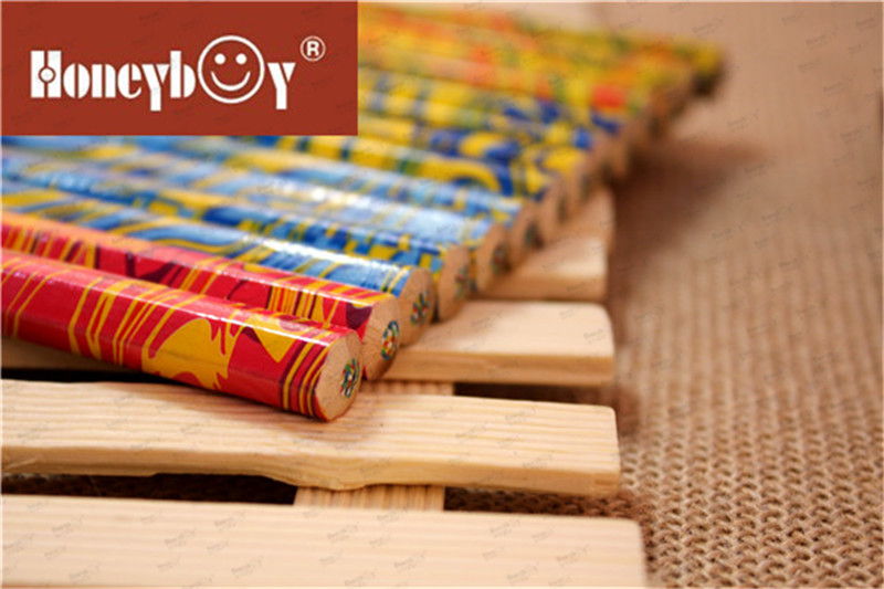 Honeyboy Jumbo Heat Transfer Rainbow Color Pencil China