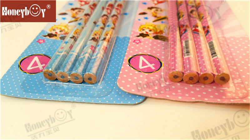 More Sales Carton Shrink Film Pencil with Blister Packing