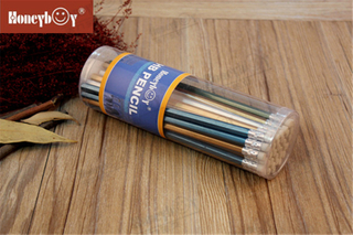 High Quality PVC Drum Packing Metallic Paint Pencil with Eraser